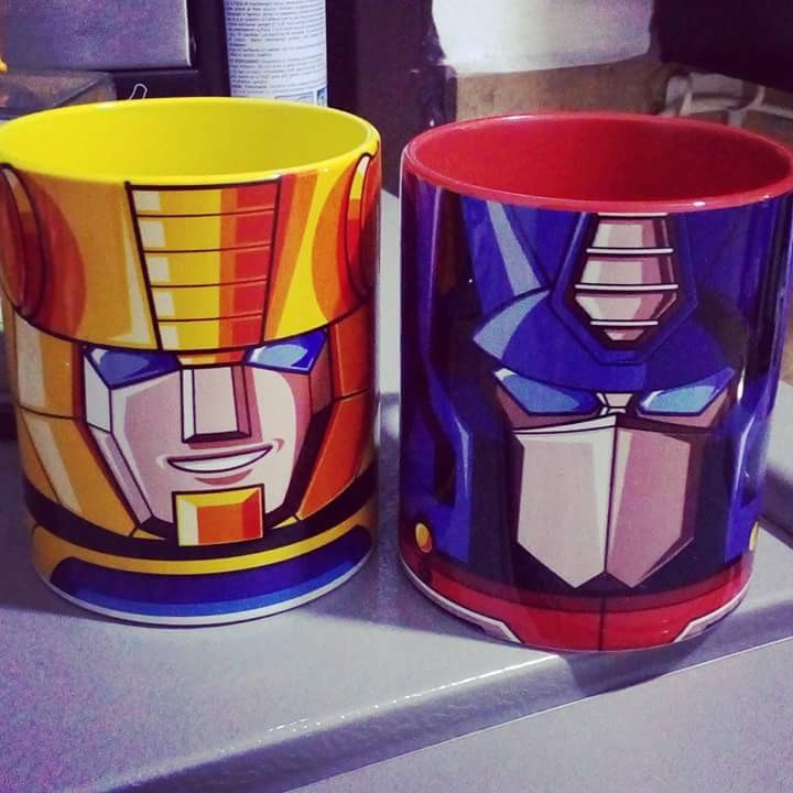 Transformers News: Transformers Generation One Mugs Found in Manila, Philippines