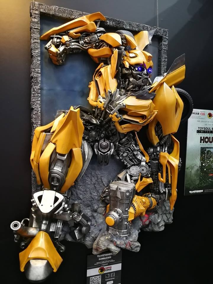 Transformers News: More Transformers: The Last Knight Wall Statues by Superfans Group