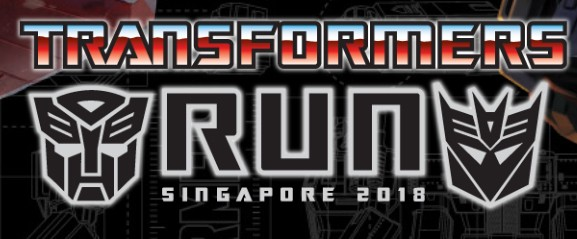 Transformers News: Official Event: Transformers Run 2018 Singapore