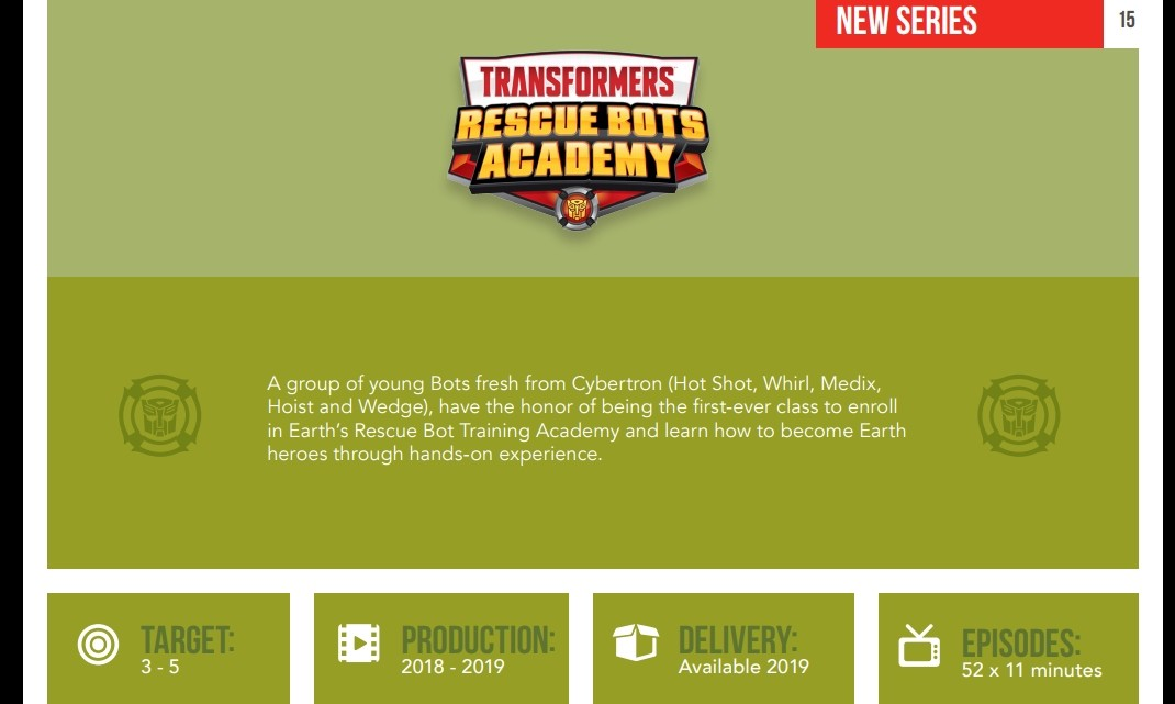 Transformers News: Official Rescue Bots Academy Discussion Thread