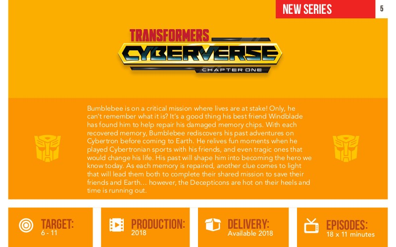 Transformers News: Details and Synopsis for Transformers: Cyberverse Animated Series