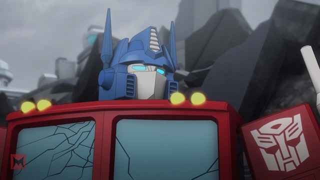 Transformers News: Peter Cullen on Optimus Prime in Machinima Transformers Titans Return