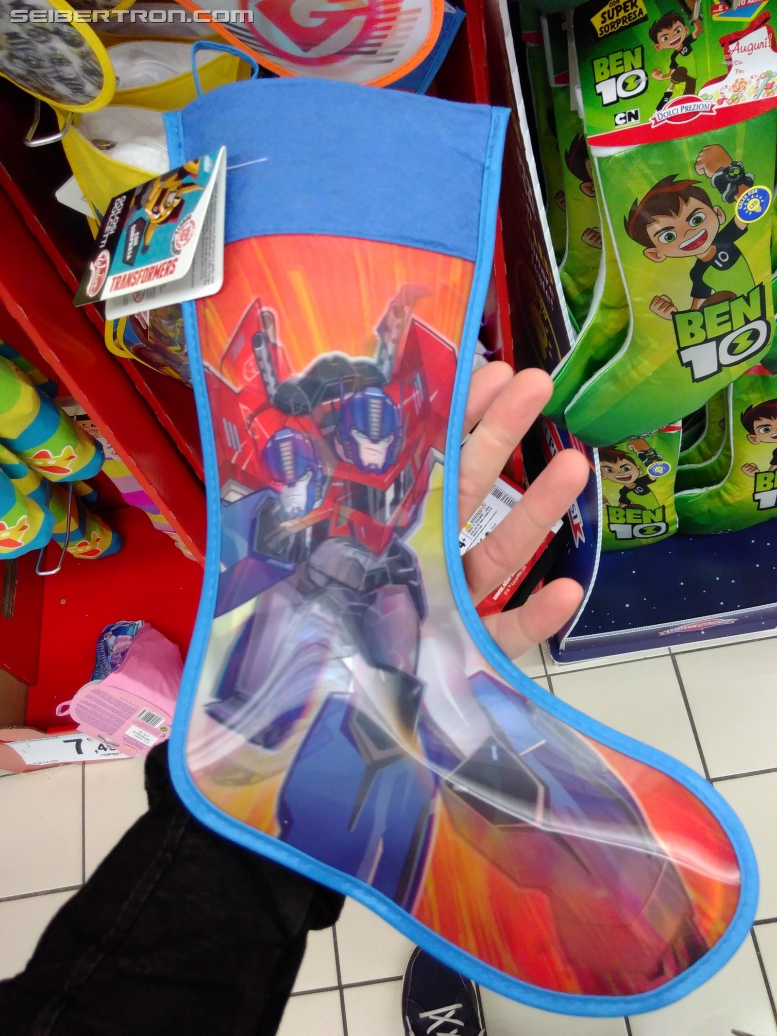 Transformers News: Transformers: Robots in Disguise Befana Products in Italy