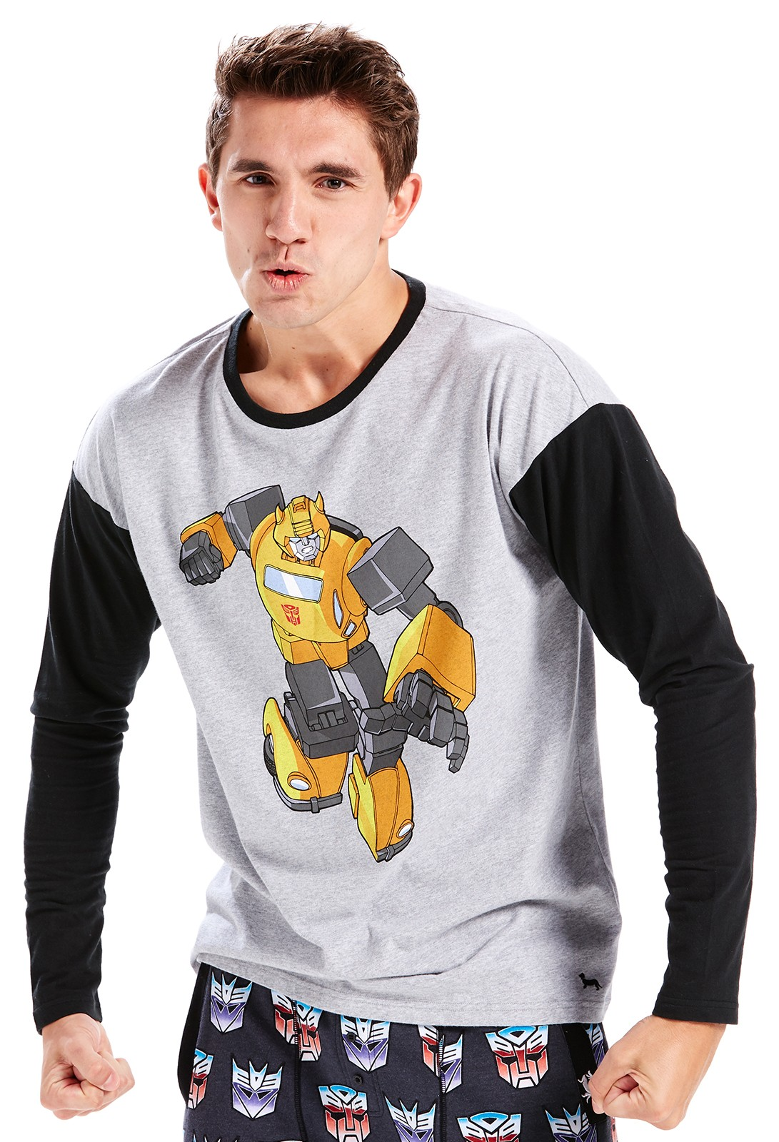 Transformers News: Peter Alexander Transformers Themed Nightwear, Homewear, Boxers