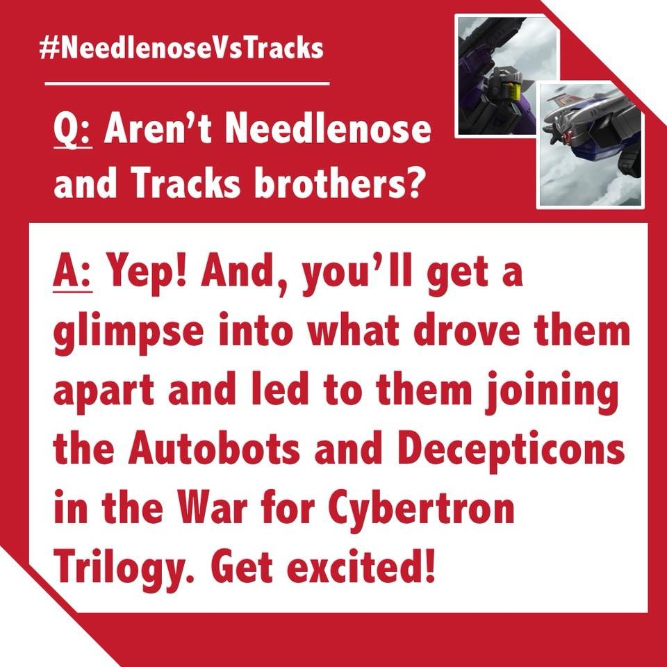 Transformers News: Hasbro Transformers 2018 Fan Vote: War for Cybertron Questions Answered, Vote Closes Today