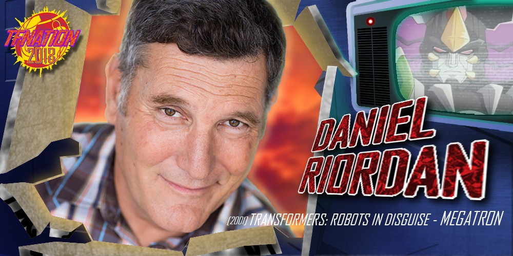 Transformers News: Voice Actor Daniel Riordan to Attend TFNation 2018