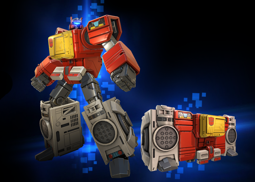 Transformers News: Blaster Joins Kabam's Transformers: Forged to Fight Mobile Game