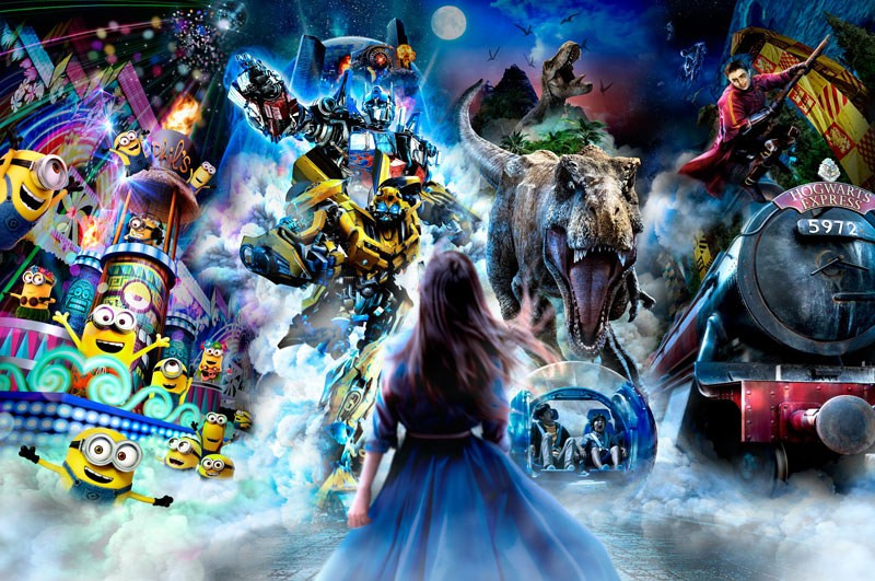 Transformers News: New Universal Studios Japan Night Parade Featuring Transformers & More