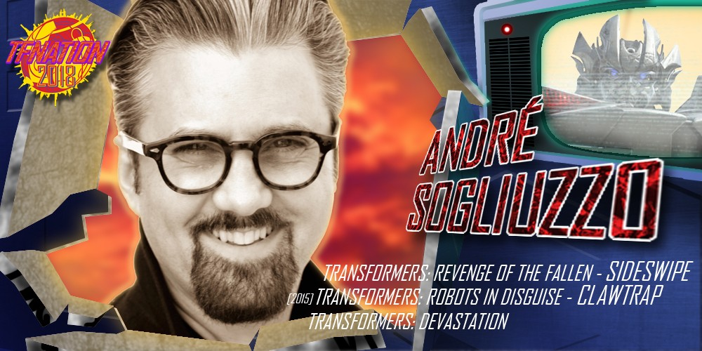 Transformers News: Voice Actor André Sogliuzzo to Attend TFNation 2018