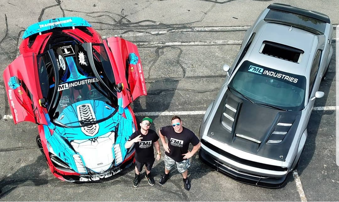 Transformers News: Mike Owens' Team Autobots to Race in Gold Rush Rally 2018 With Customized McLaren
