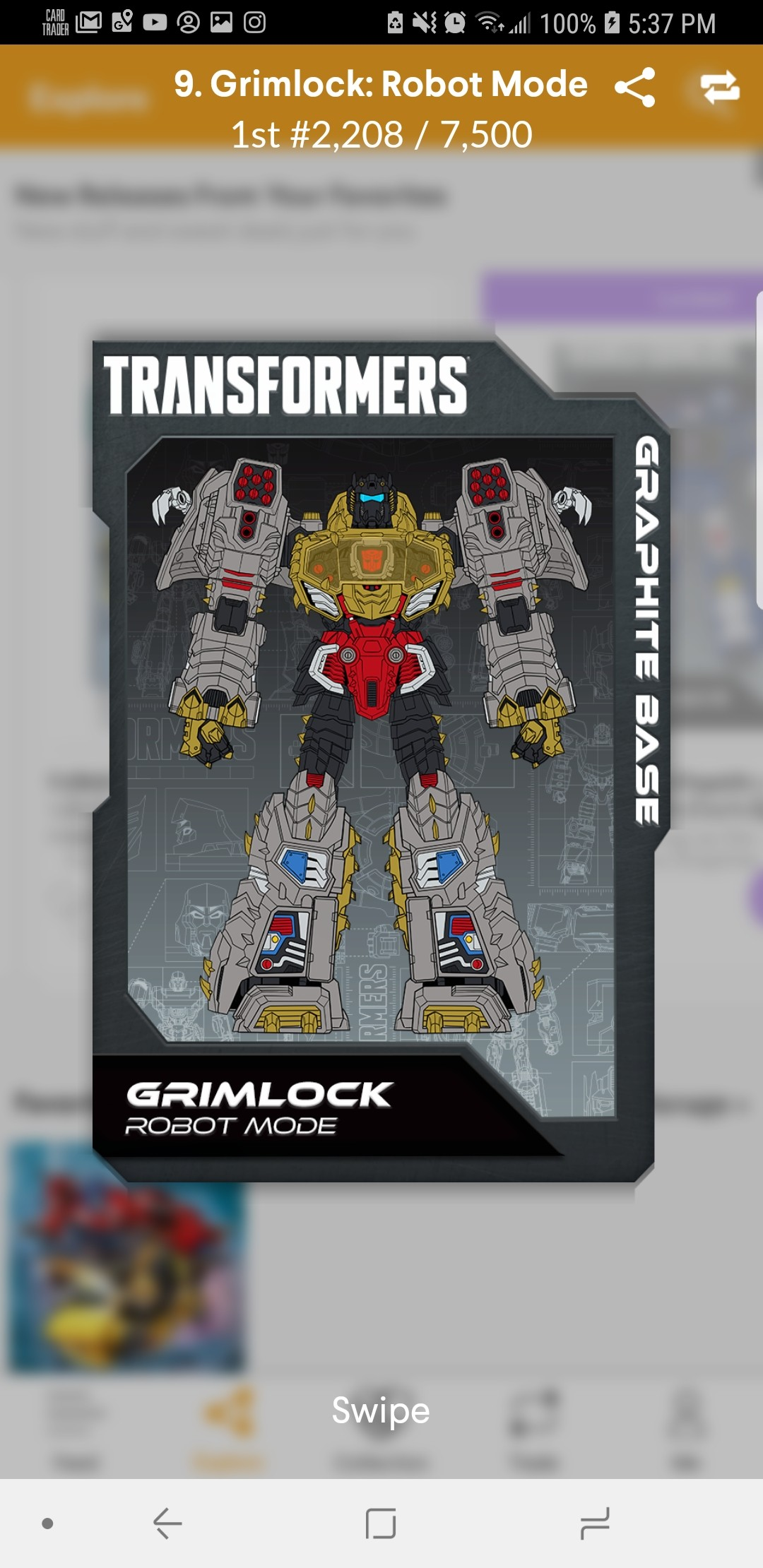 Transformers News: New Officially Licensed Transformers Digital Stickers on Quidd