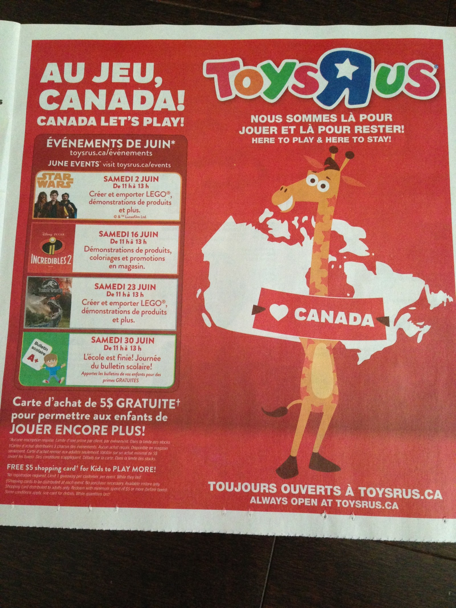 Transformers News: Toys R Us Canada Here to Stay and Celebrating This With Special Events and Free Giftcards