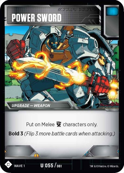 Transformers News: More new upgrade cards for the Official Transformers Trading Card Game