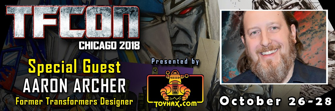 Transformers News: Aaron Archer to attend TFCon USA 2018