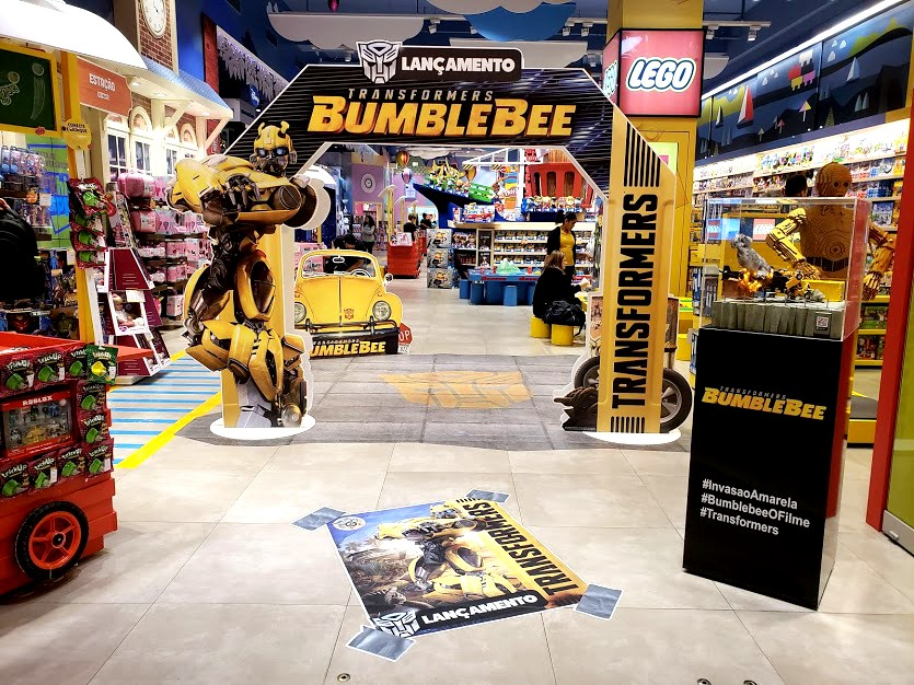 Transformers News: Images of Brazilian Launch of Transformers Bumblebee Movie Toys