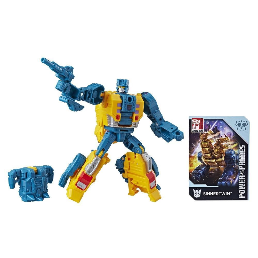 Transformers News: Transformers Power of the Primes Sinnertwin Finally on HTS.com