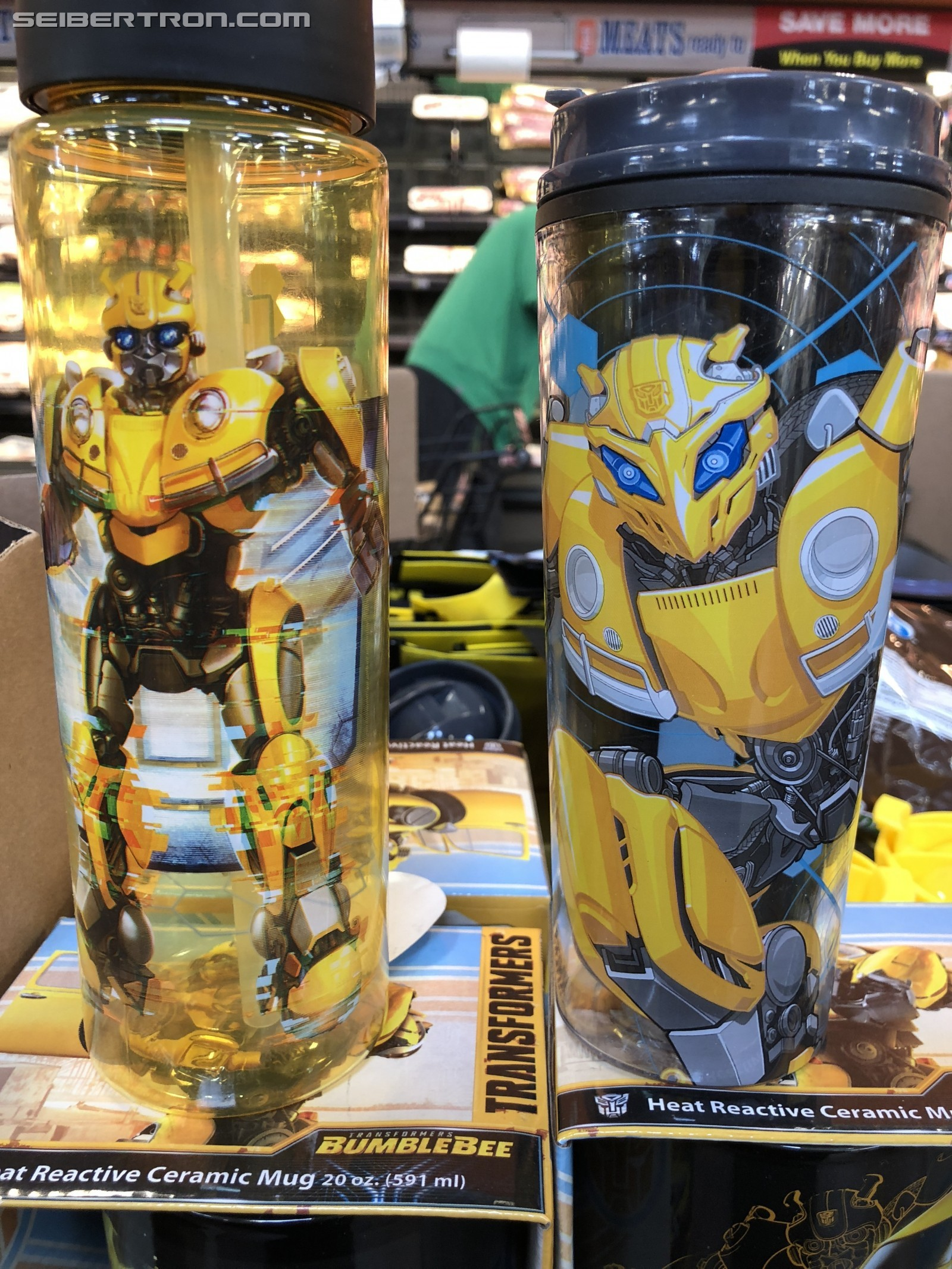 Transformers News: Transformers Bumblebee Movie Merchandise Displays Appearing at Variety of US Stores