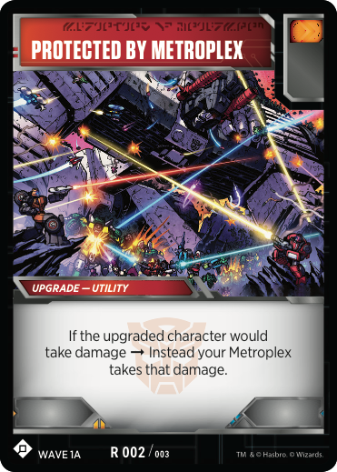 Transformers News: Re: Official Transformers TCG Metroplex Theme Deck Card Reveals