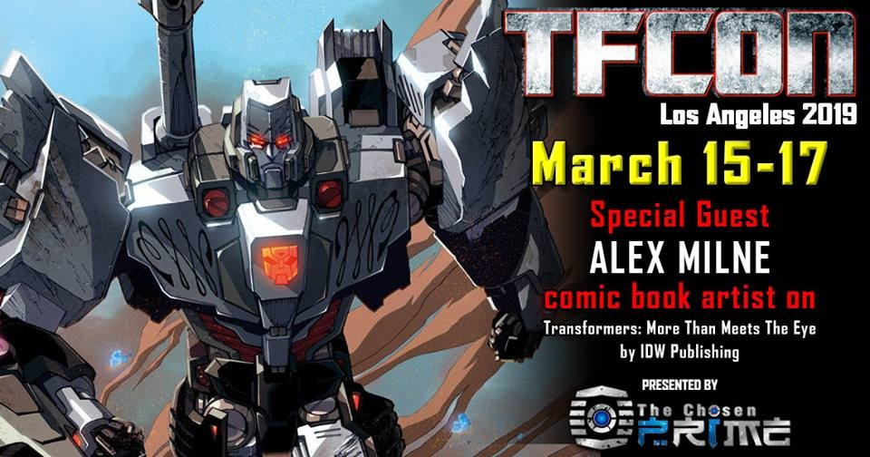 Transformers News: TFcon USA 2019 Guest Update - Alex Milne