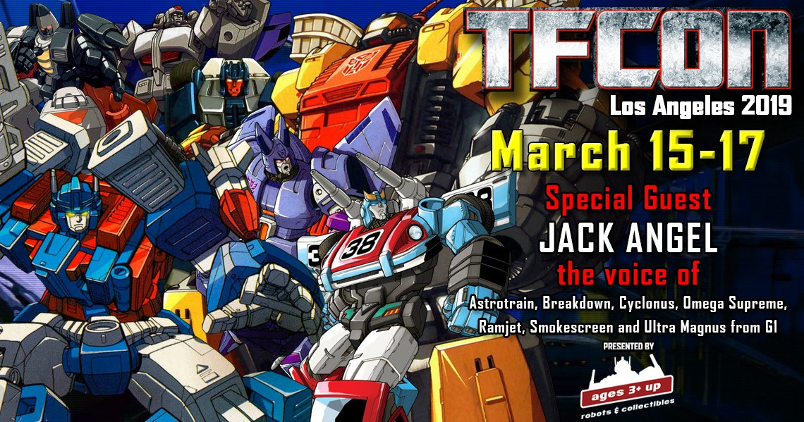 Transformers News: Transformers G1 Voice Actors Melendy Britt and Jack Angel Join The G1 Reunion At TFcon USA 2019
