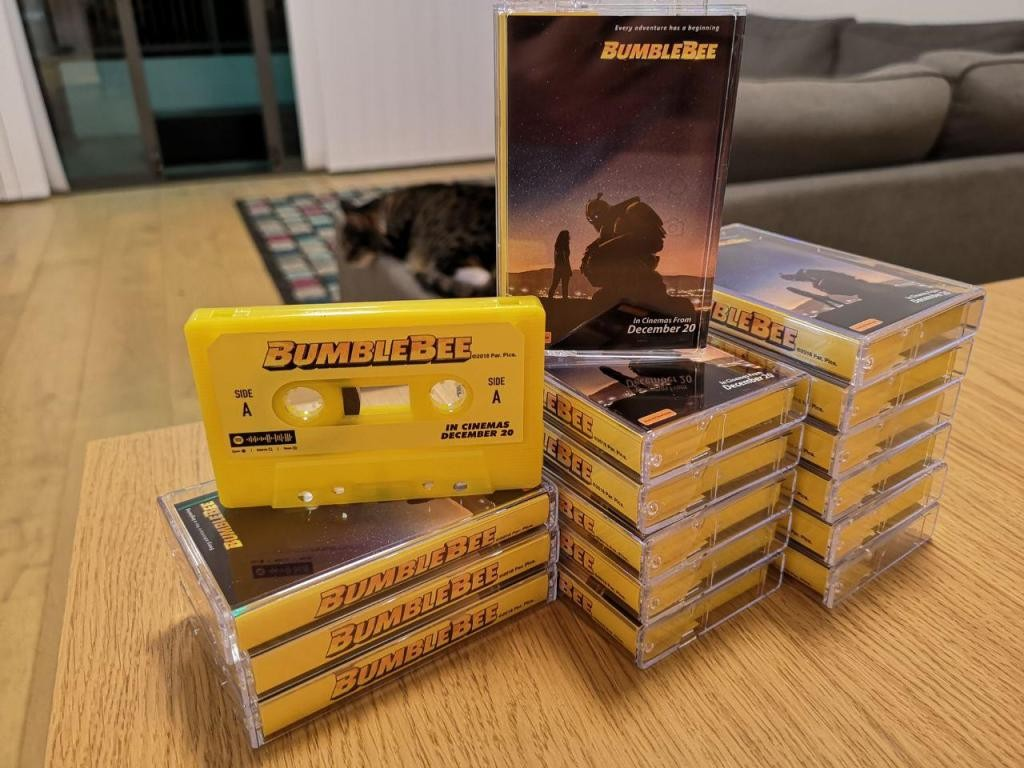 Transformers News: Transformers Bumblebee Movie Cassettes Given Out By Paramount Australia