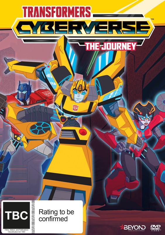 Transformers News: New Transformers Cyberverse DVD Avaliable for Pre-Order