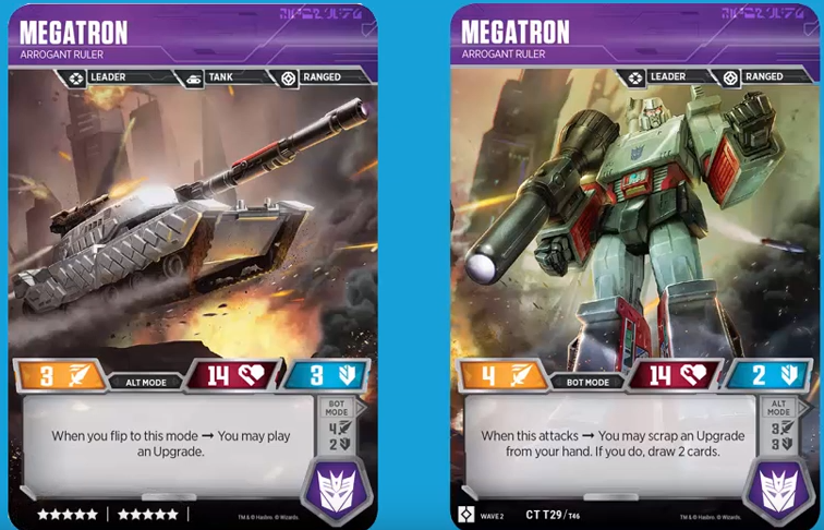 Transformers News: Bluestreak and more revealed from Transformers TCG Wave 2: Rise of the Combiners
