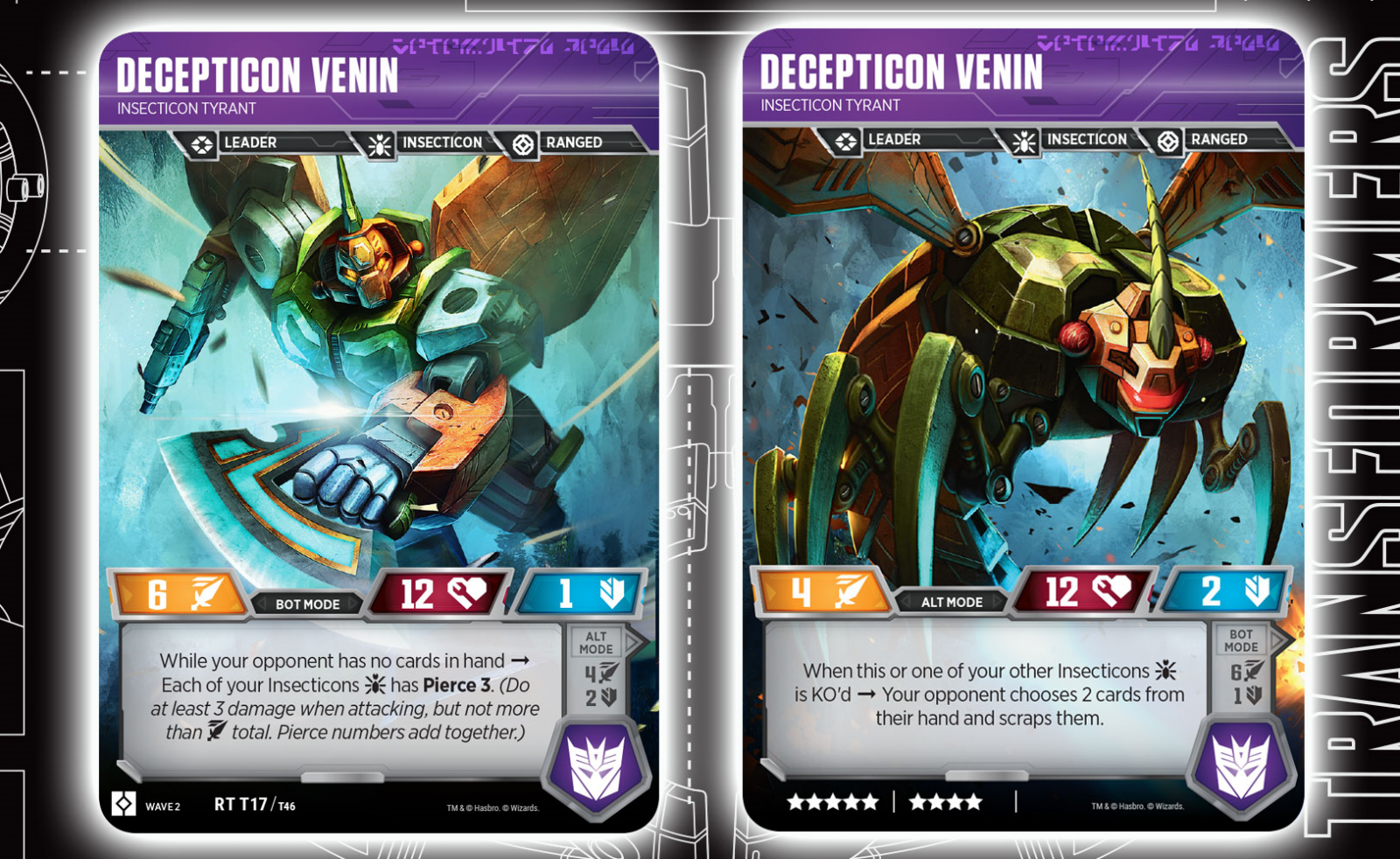 Transformers News: Deluxe Insecticon Venin Revealed For Transformers Trading Card Game And More.