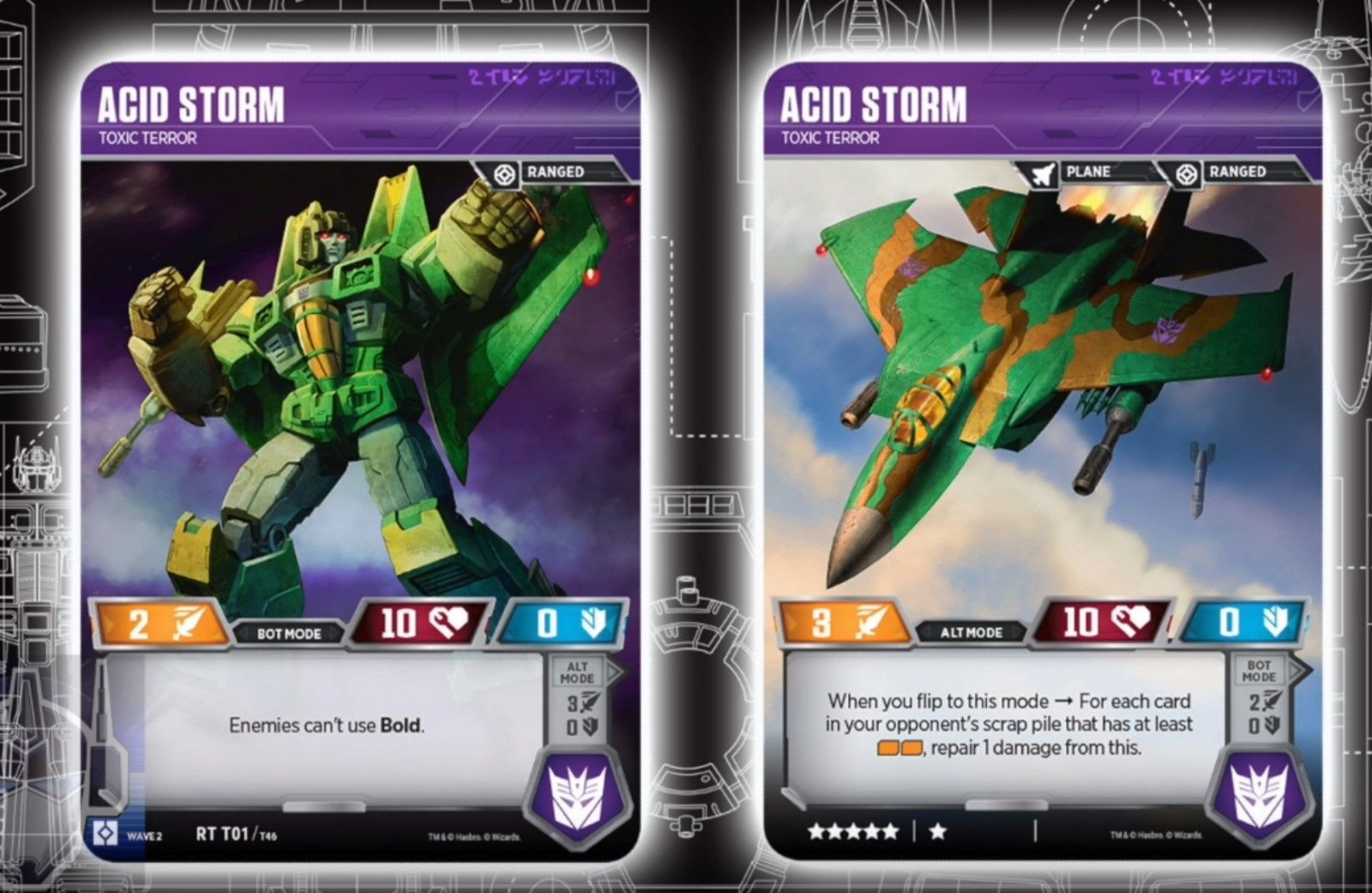 Transformers News: Acid Storm Art and Thrust, Nova Star Revealed For Transformers Trading Card Game and More