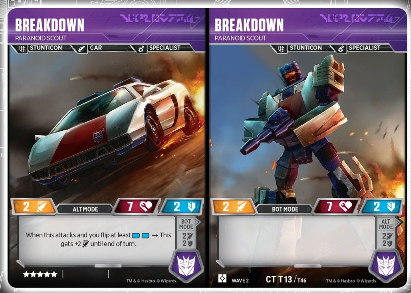 Transformers News: Menasor And Stunticons Revealed For Official Transformers Trading Card Game + Card Analysis