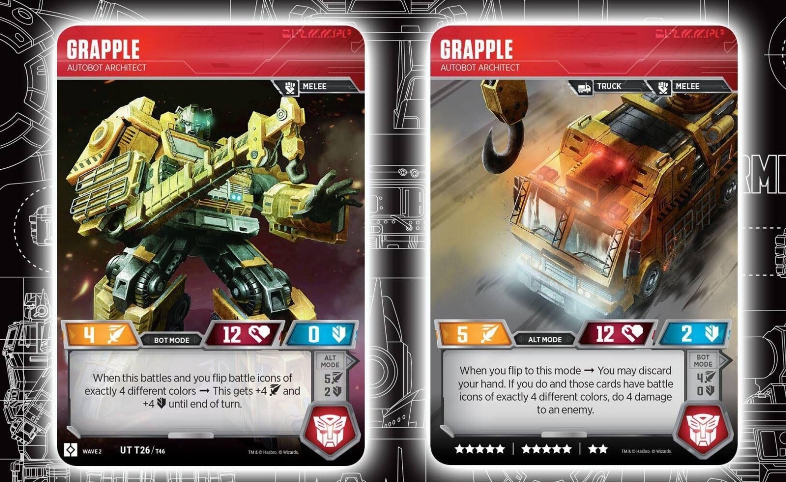 Transformers News: Grapple Revealed For The Official Transformers Trading Card Game And In-depth Analysis