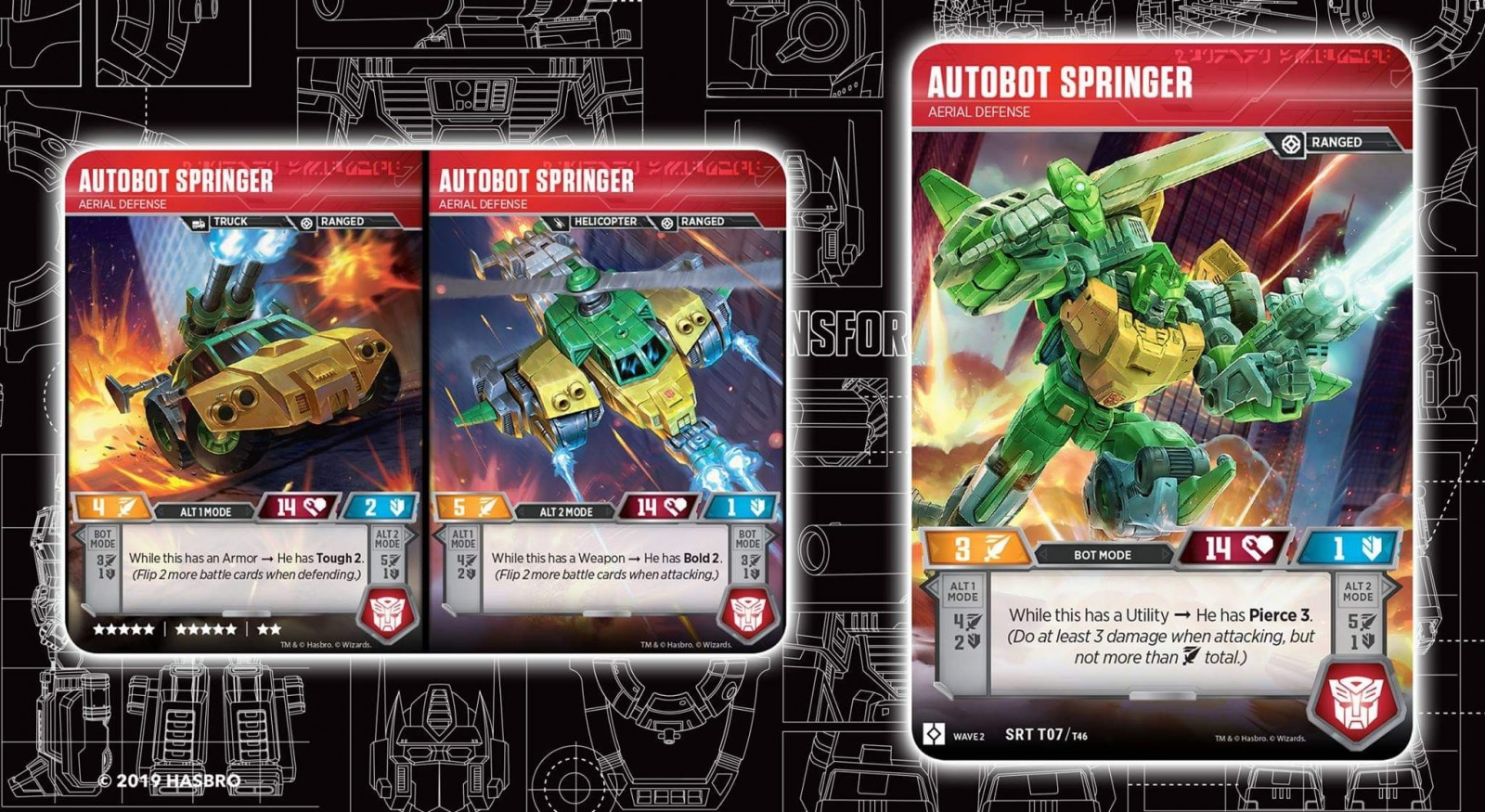 Transformers News: Triple Changers Land In The Official Transformers Trading Card Game + In-depth