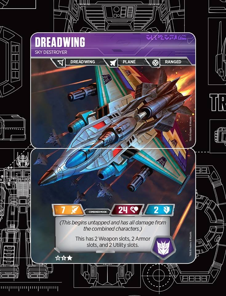 Transformers News: Dreadwing Soars In To The Official Transformers Trading Card Game And App Launch