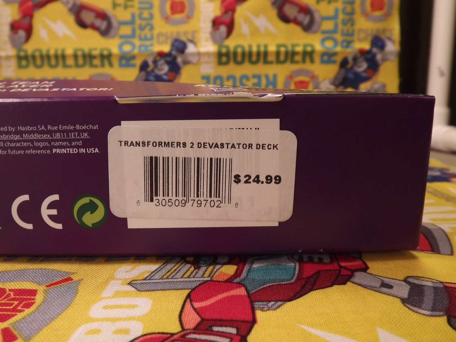 Transformers News: Transformers TCG Devesator Deck Found in Barnes and Noble