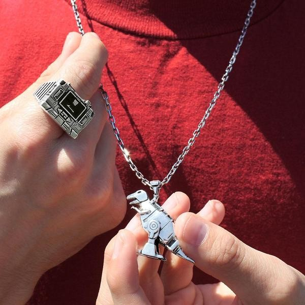 Transformers News: Stylin and Profilin in Han Cholo Officially Licensed Transformer Jewelry