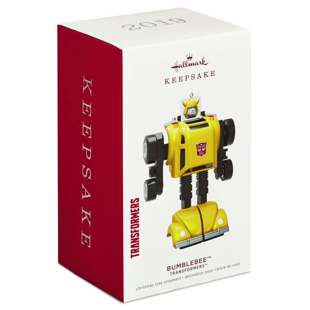 Transformers News: 2019 Hallmark Keepsake Transformers Bumblebee Ornament Spotted at Retail
