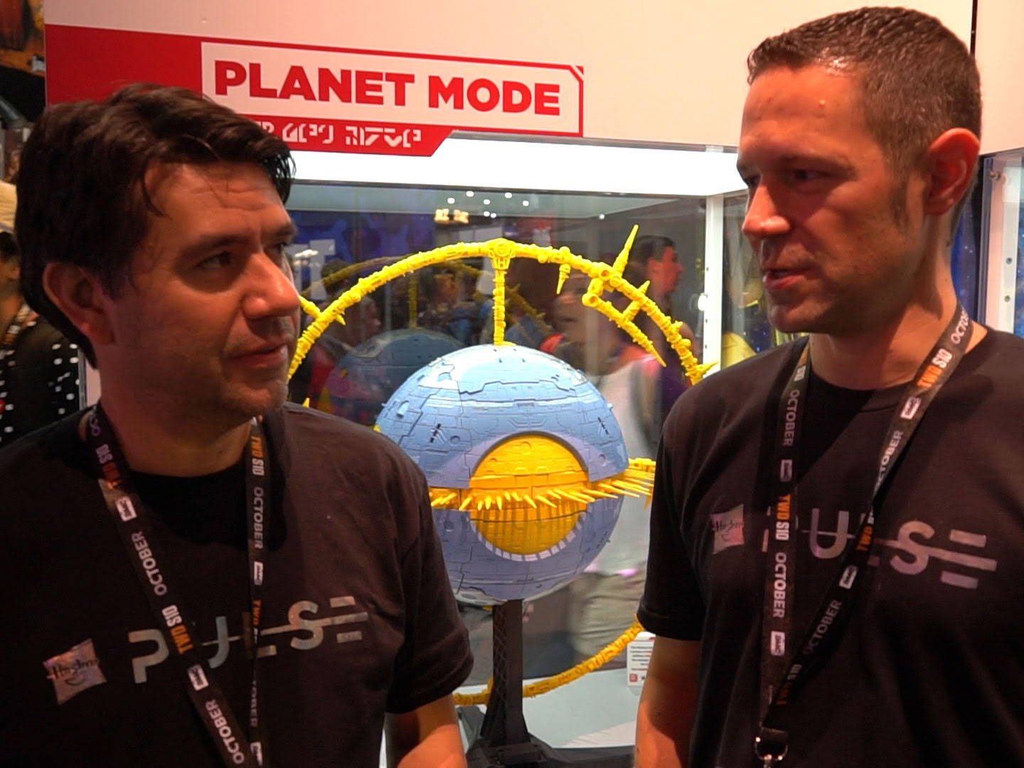 Transformers News: Unicron Display at SDCC2019 Image Gallery Update and Interview with John Warden and Ben Montano