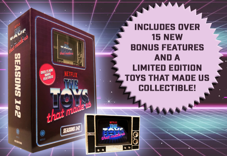 Transformers News: Toys That made Us Coming to Blu Ray with Bonus Transformers Material