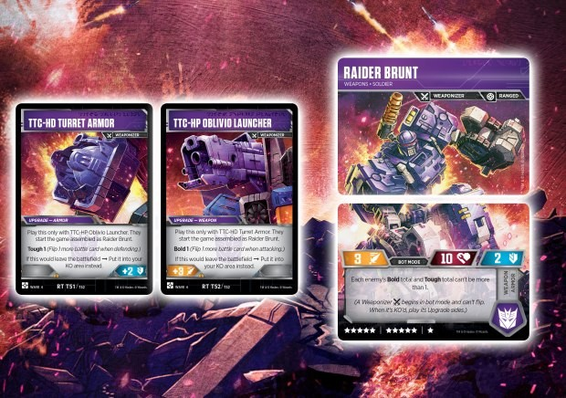Transformers News: Cavalcade of Card Reveals for the Transformers Card Game With Brunt, Impactor, Astrotrain, Six Gun