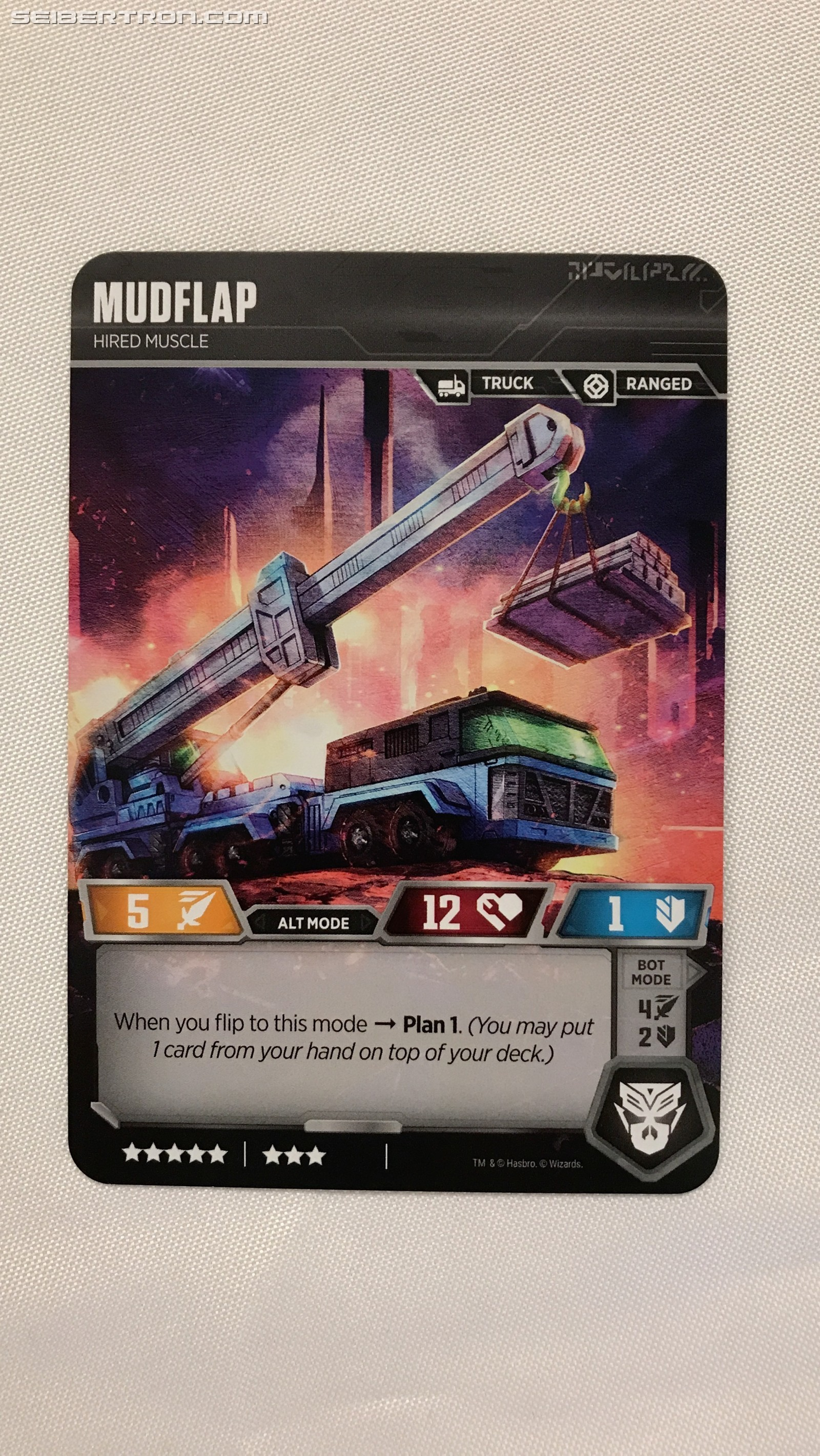 Transformers News: New Siege II Cards Revealed For The Official Transformers Trading Card Game #NYCC2019