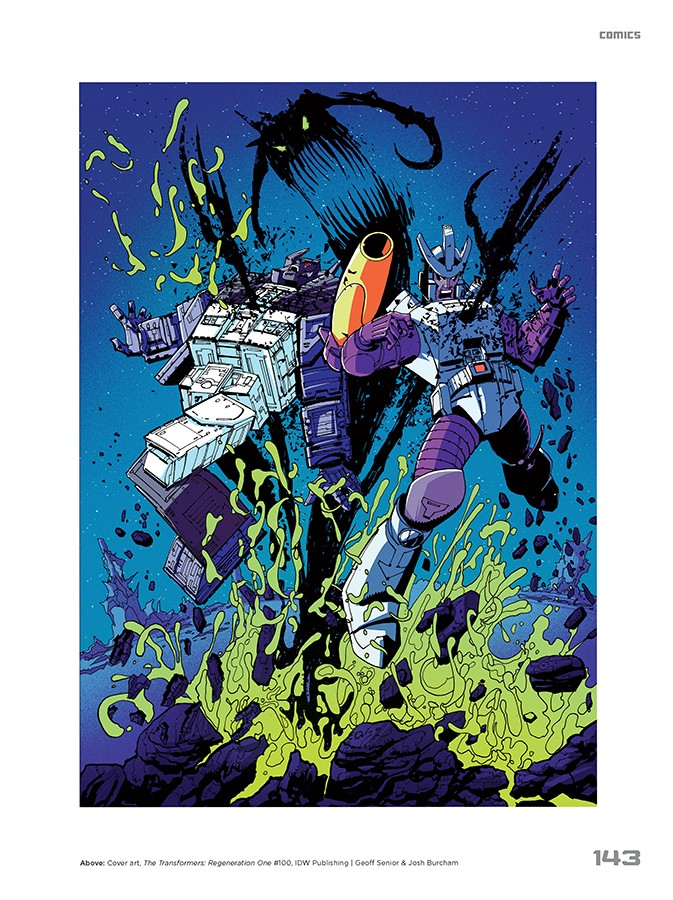Transformers News: Interview with Jim Sorenson, author of Transformers: A Visual History, plus image samples