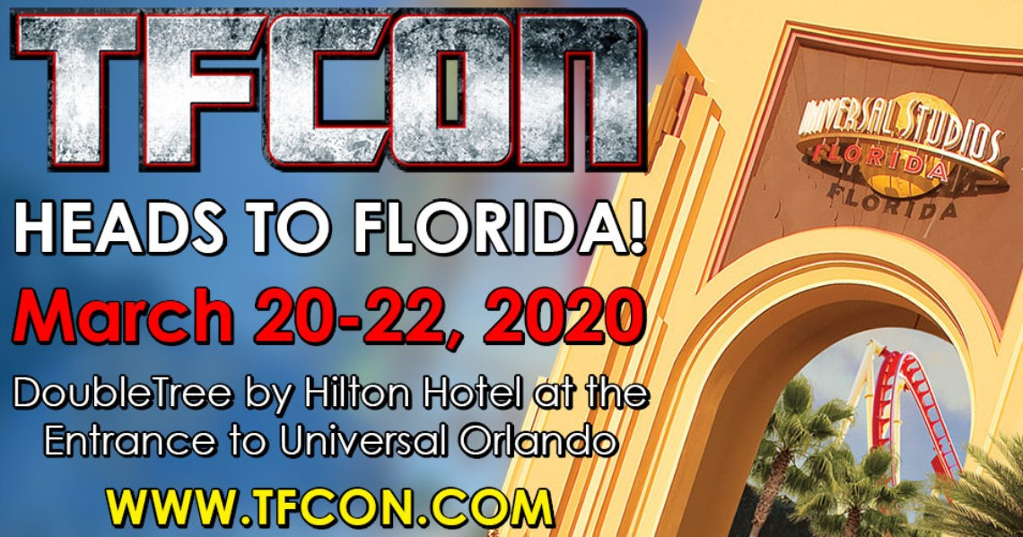Transformers News: Details for TFcon Orlando 2020 with Guests and Dates