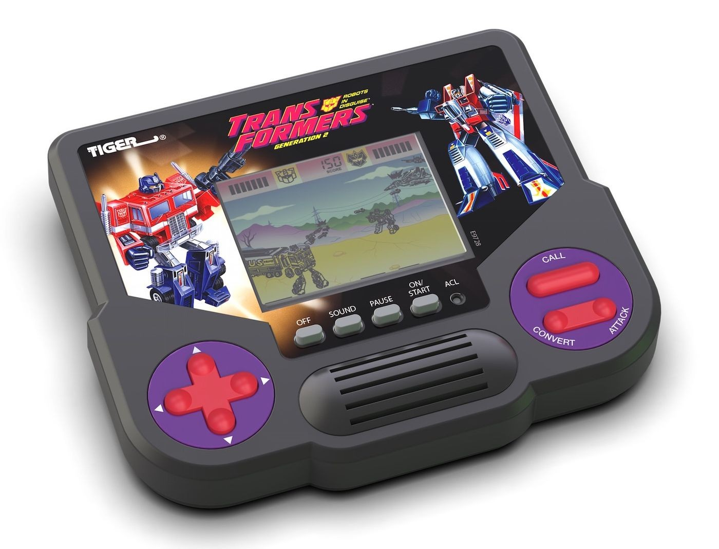 Transformers News: Hasbro To Release New Tiger Electronics LCD Handhelds, Including Transformers Generation 2 Title