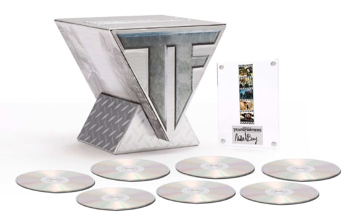 Win a Transformers 7-Disc Limited Collector's Edition Blu-ray Trilogy Set from Paramount