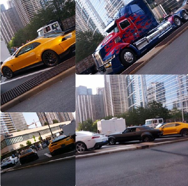 New Transformers 4 Vehicles Spotted: Chinese Concept E-Jet, Aston Martin Vanquish, and a white 2013