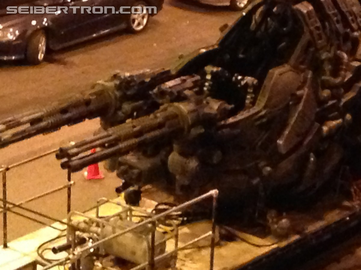 Dual Machine Gun Vehicle spotted on set of Transformers 4 in Chicago yesterday