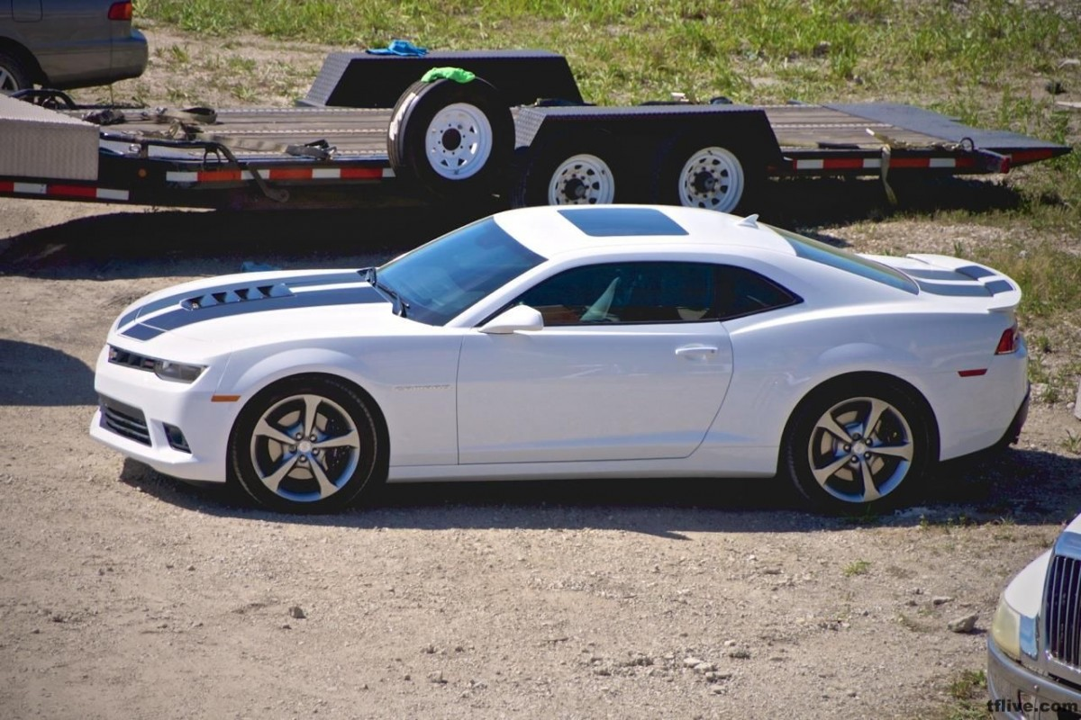 Transformers News: Transformers: Age of Extinction News Roundup - White Camaro, E-Jet, TJ Miller, and Videos