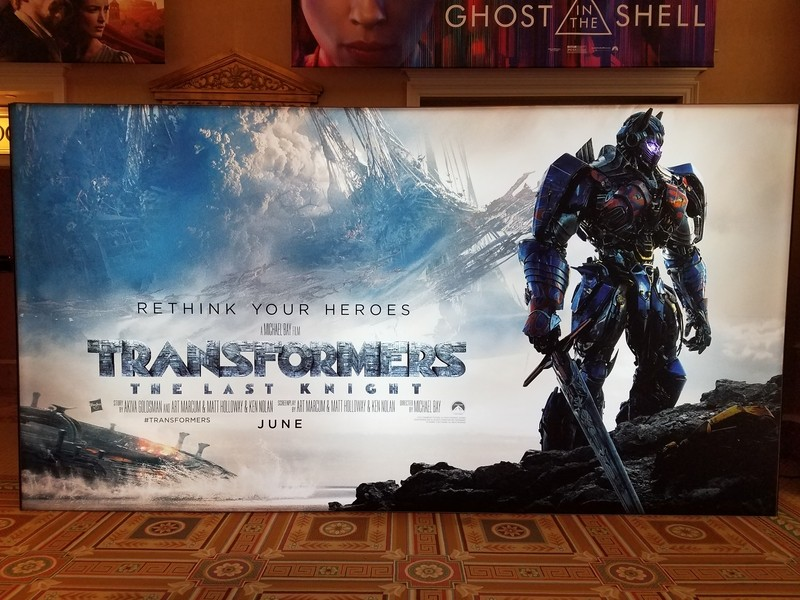 Transformers News: Larger 'Rethink Your eroes' Poster for Transformers: The Last Knight