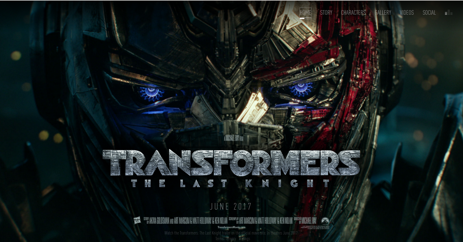 Transformers News: Official Website for Transformers: The Last Knight Now Online