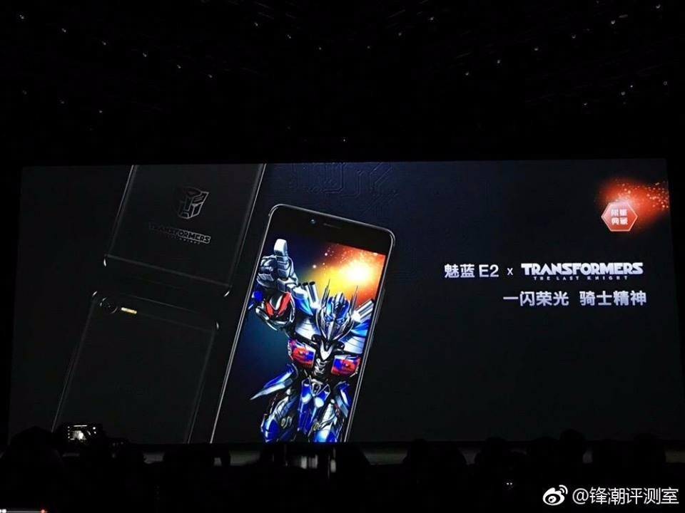 Transformers News: Transformers The Last Knight Meizu E2 Cellphone Revealed